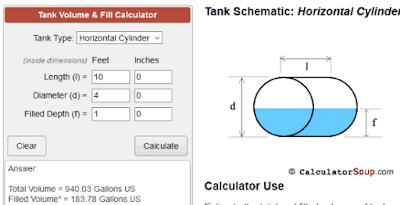 Cara menghitung volume cairan dalam tangki-4