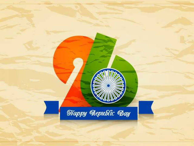 26 January. Happy Republic Day