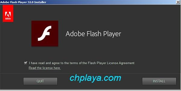 Hướng dẫn cài đặt, update Adobe Flash Player mới nhất a