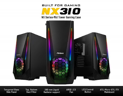 Antec NX310 Mid Tower Gaming Cabinet
