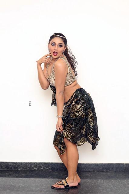 Actress Natasha Doshi Hot Cleavage and Navel Show Pictures Actress Trend
