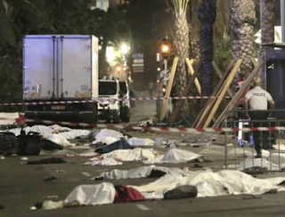 Nice Terror Attack: 80 Killed By Truck Crashing Into Bastille Day Crowd And Ploughing Into Pedestrians For Up To 2km Then Spraying Them With Bullets