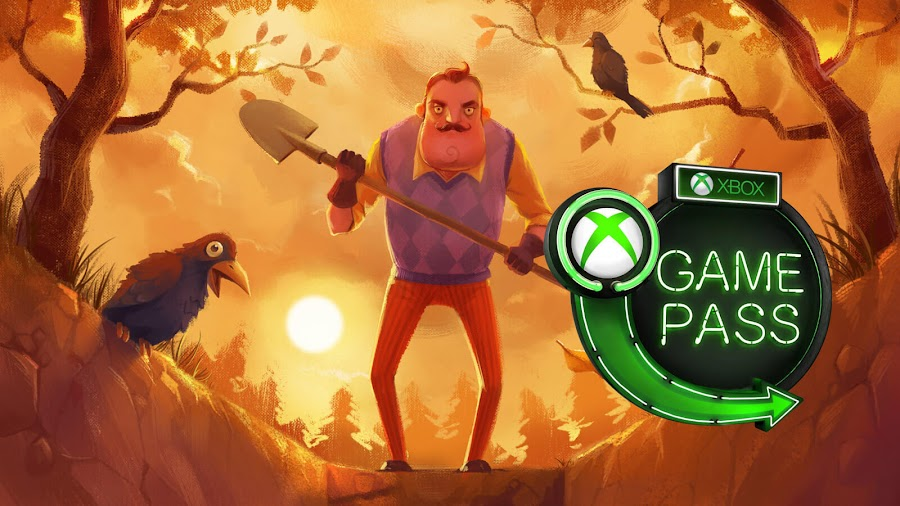 xbox game pass halloween 2018 hello neighbor