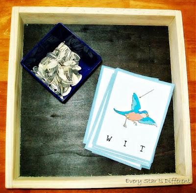 Bird Themed First Letter Sounds