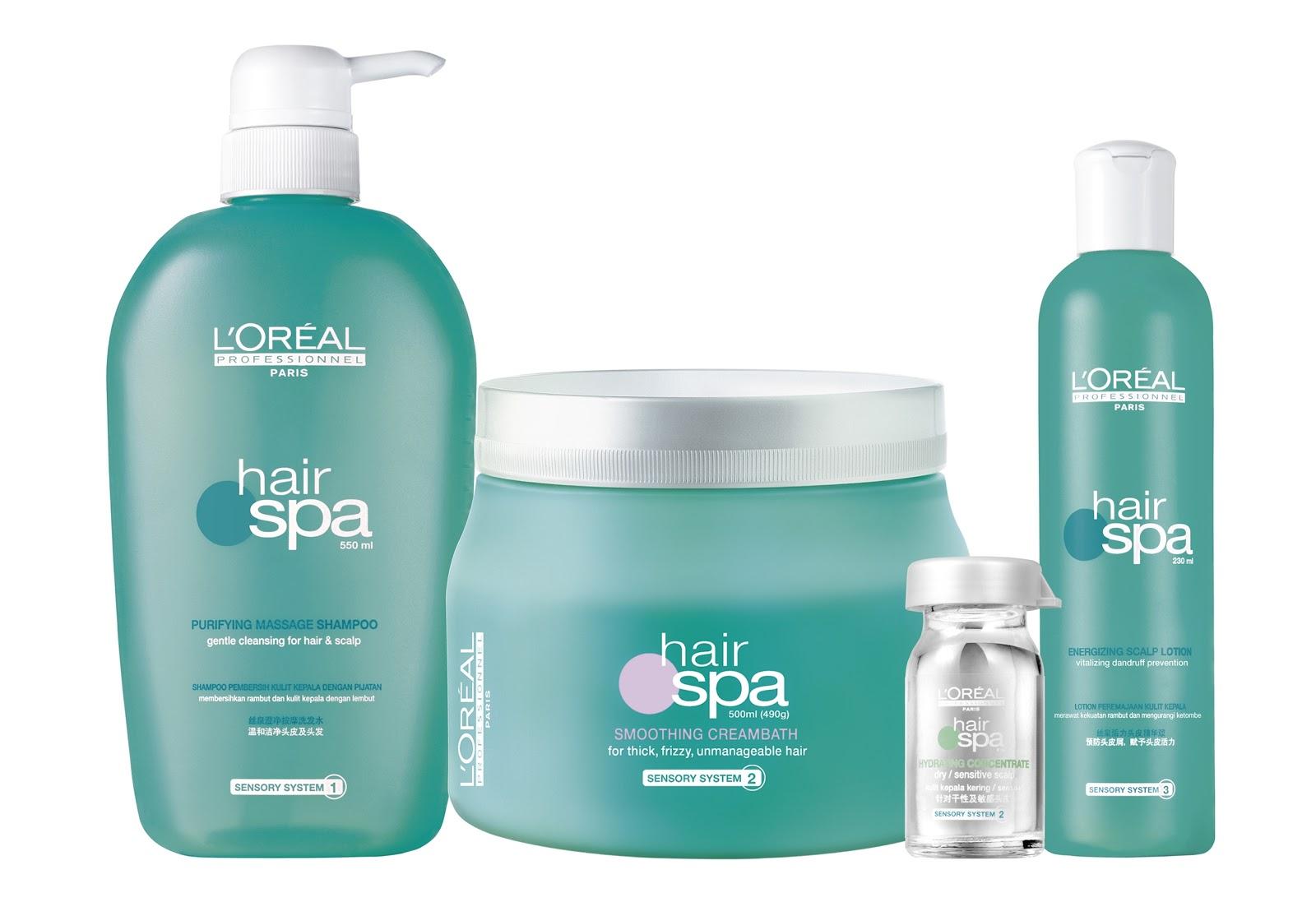 L'Oreal Professionnel Hair Spa Treatment Info - New Love ...