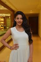 Daksha Nagarkar Cute Beauty in Sleeveless White Dress at Khwaaish Exhibition Launch 2017 ~  Exclusive 024.JPG