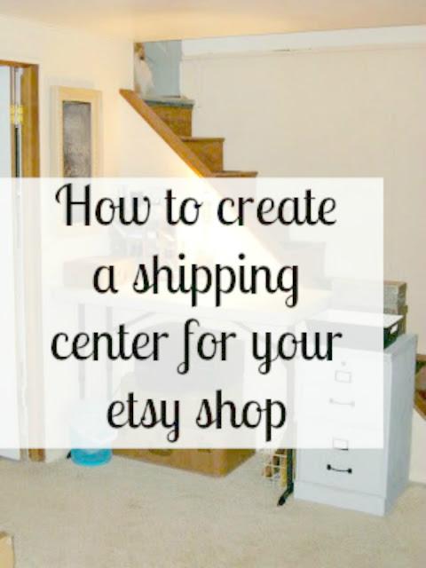 Etsy shipping center