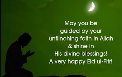 Eid Mubarak 2016:may you be guided by your unflinching faith in Allah
