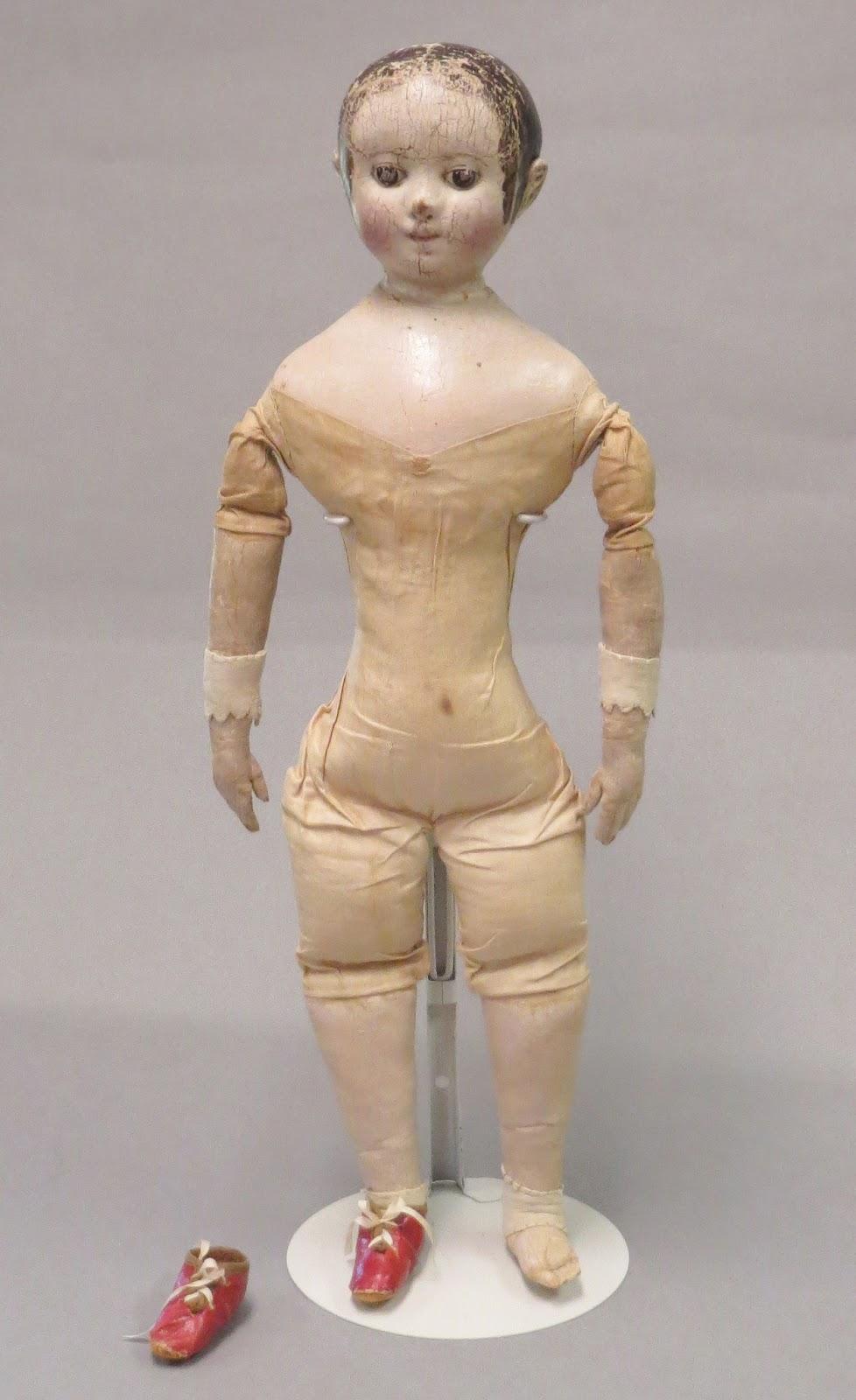 Izannah Walker Chronicles Izannah Walker Doll Sold