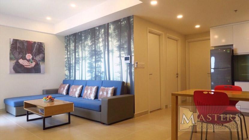 Masteri Thảo Điền căn hộ cho thuê - sofa phòng khách
