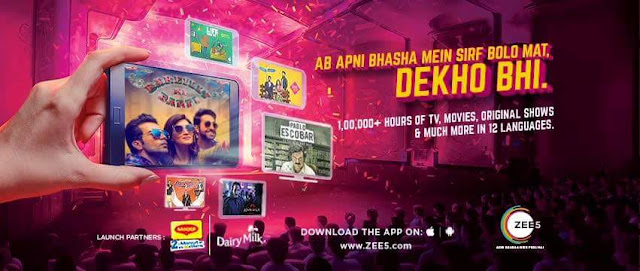 ZEE5 App on iOS,Android Phones, Android TV, Amazon Fire TV Stick and Chromecast,