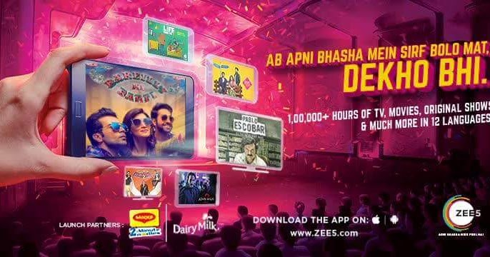 ZEE5 App on iOS,Android Phones, Android TV, Amazon Fire TV