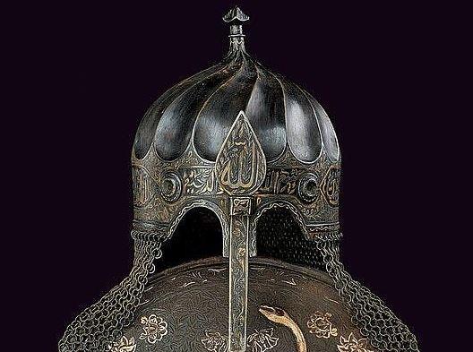 ottoman era helmet