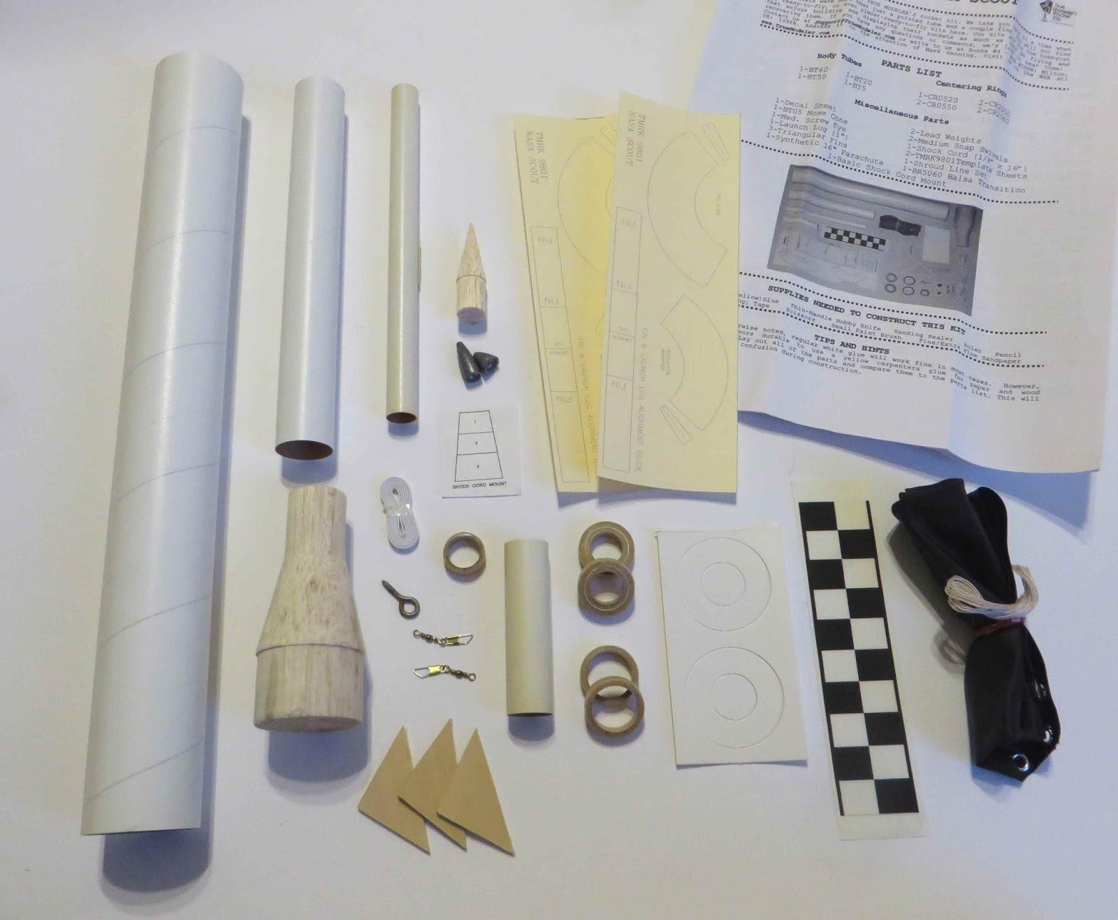 nasa model rocket kits - photo #41
