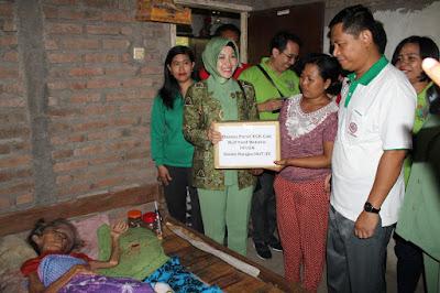 Berkolaborasi Dengan IDI, Persit Yonif Mekanis 741/GN Gelar Bhakti Sosial