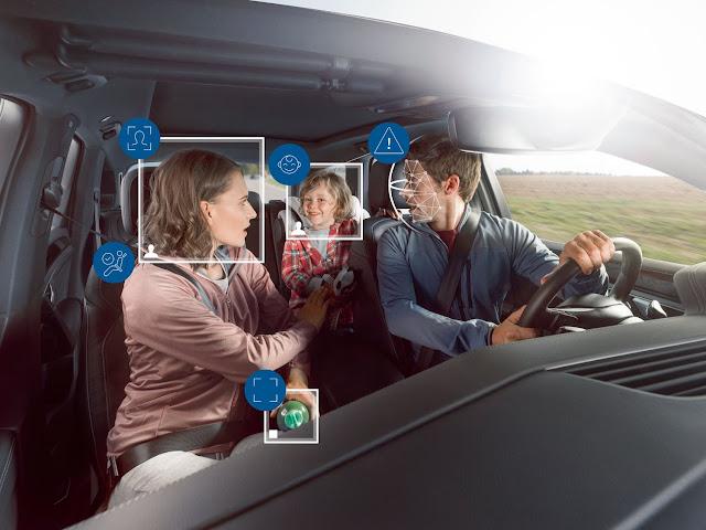 Interior dos veículos mais seguro graças a sistema de monitorização da Bosch - Inteligência Artificial assegura maior segurança e conforto