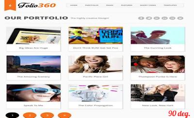 Folio360-Blogger-Template