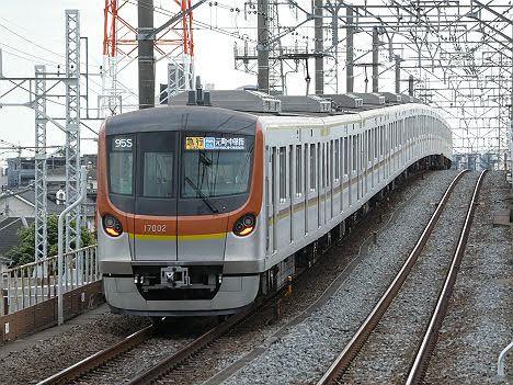 【初運用!】副都心線 急行 元町・中華街行き メトロ17000系