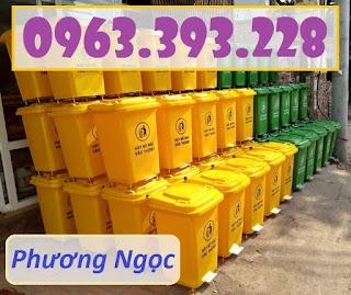 f3f8c5b4976e75302c7f - Thùng rác nhựa 60L đạp chân, thùng rác đạp chân 4 bánh xe