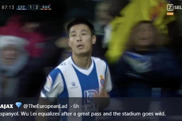 Barcelona goalkeeper broken down, Maradona from China set another record