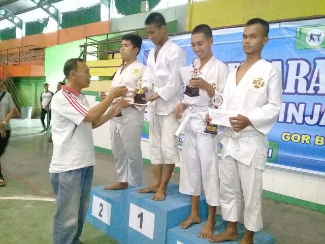 Dojo SD Negri 1 Binjai, Juara Umum Kejuaraan Kempo Antar Pelajar