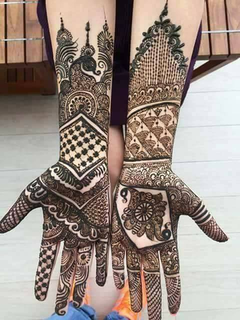Bridal Mehandi Designs for Hands 13