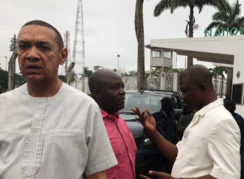 ''The plan is to install Akpabio as Senate President and impeach Saraki'' Ben Murray Bruce speaks on DSS takeover