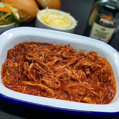 Balsamic BBQ Pulled Chicken Recipe
