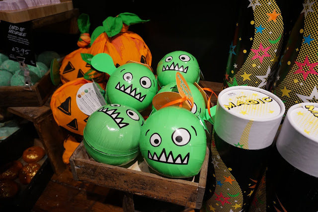 Lush Manchester Arndale - Halloween Gifts