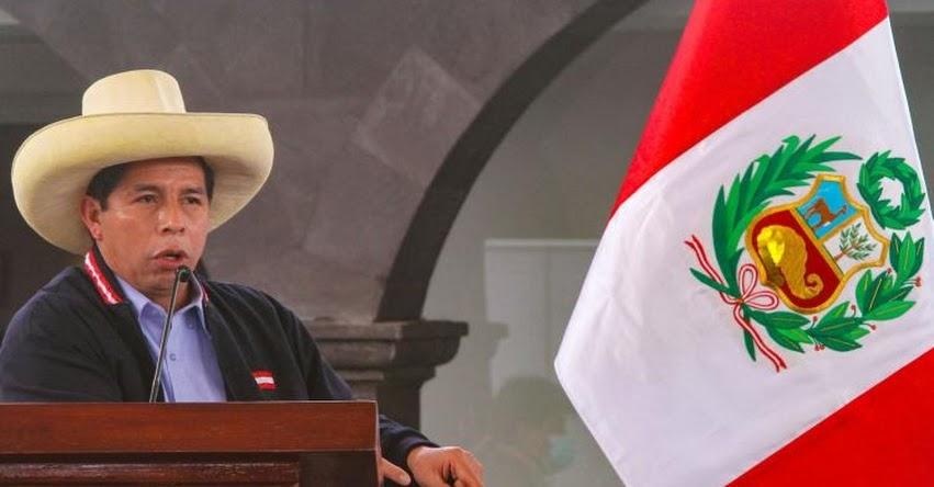 EN VIVO: Congreso juramenta a Pedro Castillo Terrones como nuevo Presidente del Perú 2021-2026 [YOUTUBE]