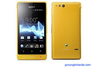 Cara Flashing Sony Xperia GO ST27i