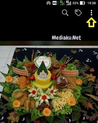 Ambil Foto (Gambar) Di Facebook Lewat HP