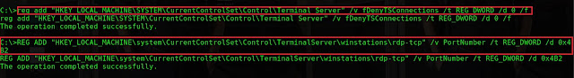 change from default tcp port to port 1202