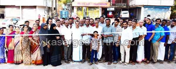 Chalanam, Road, Concrete Road inaugurated.