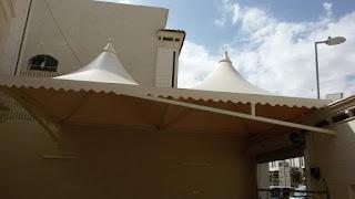 افضل اشكال واعمال مظلات سيارات الرياض