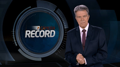 Foto do apresentador Marcos Hummel - Divulgação/Record TV