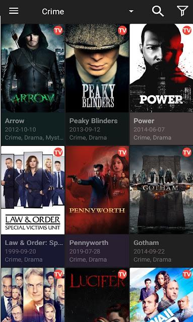 تطبيق Cinema HD لتحميل ومشاهدة الأفلام والمسلسلات بكل الجودات للأندرويد