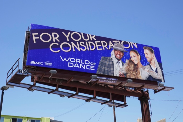 World of Dance 2019 Emmy FYC billboard