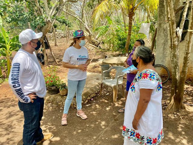 Pili Santos llama a construir una red de apoyos para las familias más vulnerables