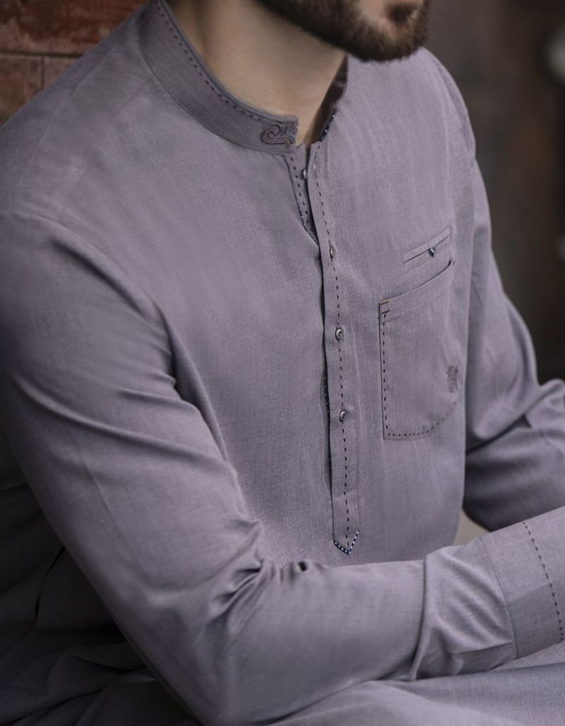 Stylish Junaid Jamshed Men's Kurta For Yr 2019 Styles for Semi formal Wear