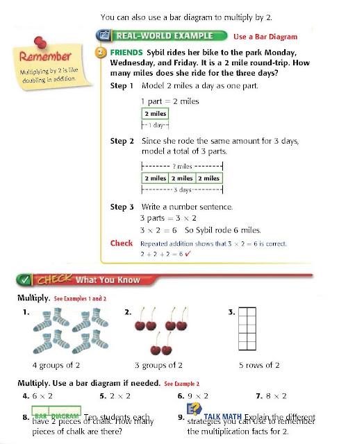 2nd grade math worksheets multiplication & division problems