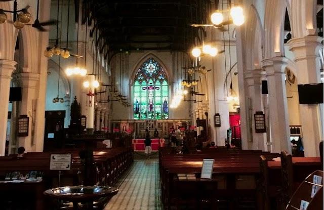 【中環古典美】遊走宗教建築 聖若翰座堂