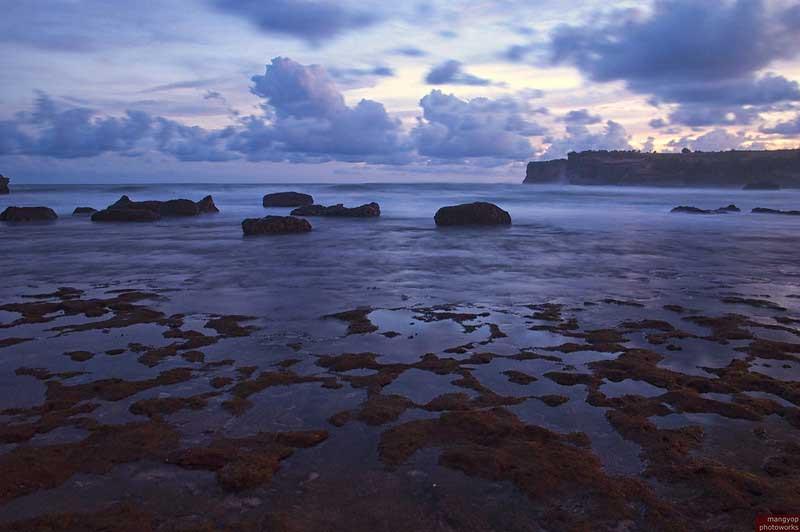 Fasilitas Wisata Klayar Beach Pacitan
