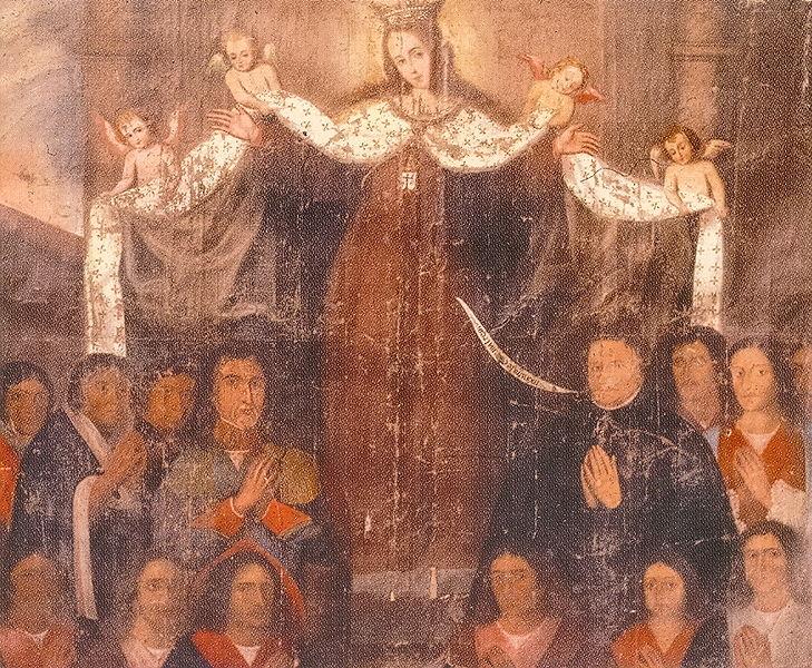 Novias de la orden del correo de la Virgen