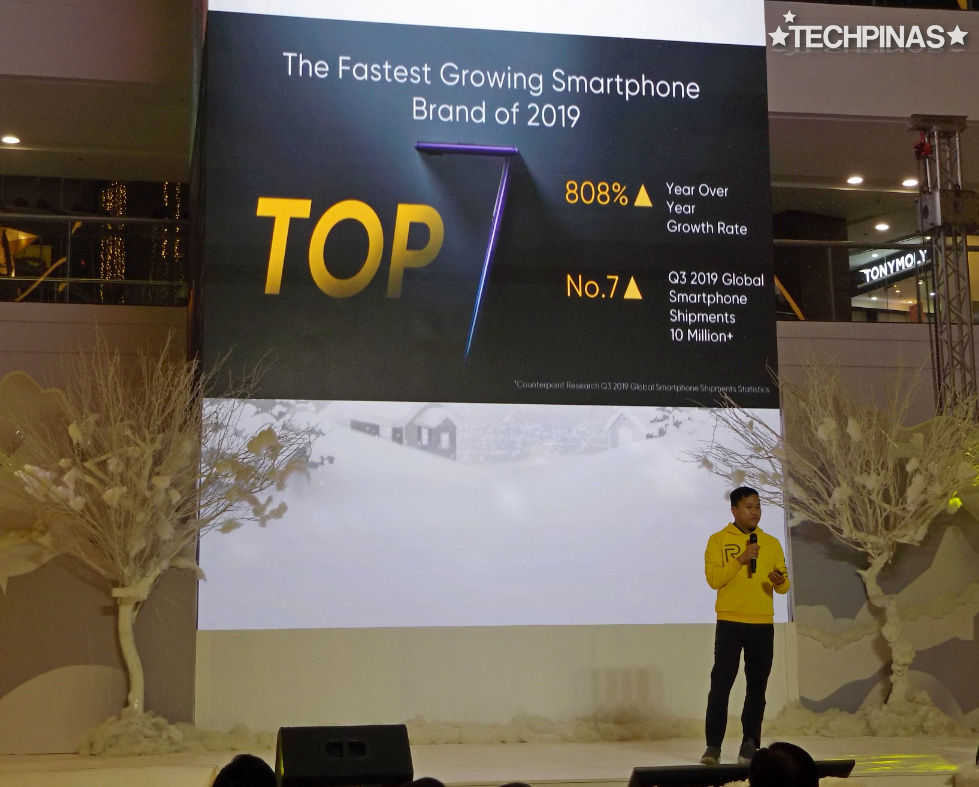 Realme Philippines, Realme Fastest Growing Smartphone Brand