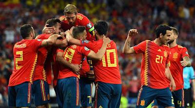مشاهدة مباراة اسبانيا وجزر فارو بث مباشر اليوم 8-9-2019 في تصفيات اليورو 2020