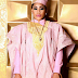 Toyin Lawani slays in pink Agbada(Photos)