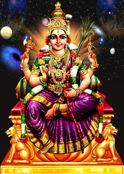 Hindu Goddess lalitha photo