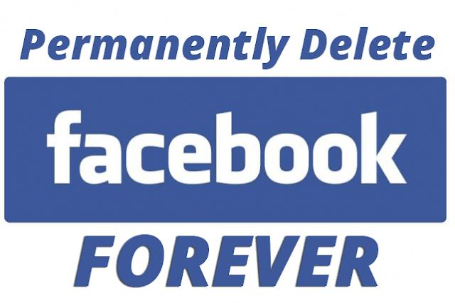 شرح طريقة حذف حساب الفيس بوك نهائيا ولا يمكن استرجاعها - حصريا - شرح طريقة حذف حساب الفيس بوك للابد بطريقة نهائيا، بحيث لا يمكنك استعادة الحساب مرة اخرى بعد الحذف