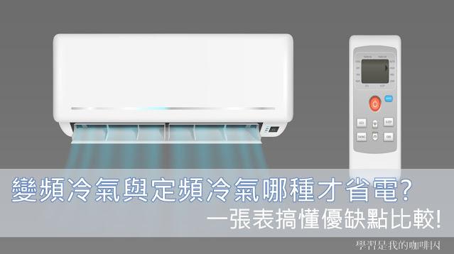 變頻冷氣與定頻冷氣哪種才省電?一張表搞懂優缺點比較!_房地產筆記